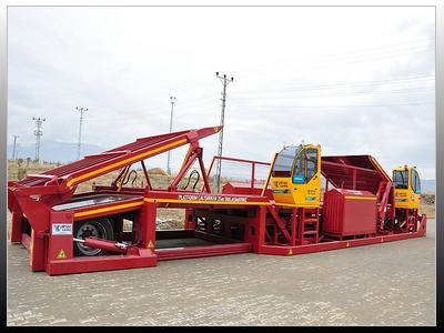10m Mobil Boşaltma Platformu